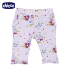 chicco-芭蕾舞者-滿底花朵彈性長褲