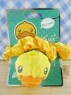 【震撼精品百貨】B.Duck_黃色小鴨~髮圈-立體造型