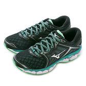 Mizuno 美津濃 WAVE RIDER 21  慢跑鞋 J1GD180302 女 舒適 運動 休閒 新款 流行 經典