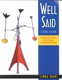 二手書博民逛書店《Well Said: High Intermediate to Advanced Pronunciation》 R2Y ISBN:0838402089