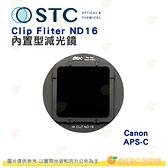 台灣製 STC Clip ND16 內置型減光鏡 抗靜電 防潑水油污 Canon APS-C 專用 公司貨 1年保固