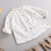 小童全棉長袖襯衫春夏季防曬打底兒童洋氣女童襯衣寶寶娃娃衫薄款 嬌糖小屋