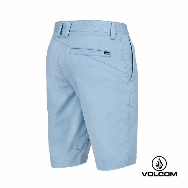 VOLCOM FRCKN MDRN STRCH SHT 都會修身型短褲-淡藍