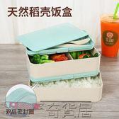 學生日式午餐飯盒上班兩層密封便當盒