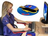 電腦手托架鼠標托架手臂支架電腦桌手托板護腕鼠標墊可旋轉定制東川崎町