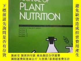 二手書博民逛書店JOURNAL罕見OF PLANT NUTRITIONY1538