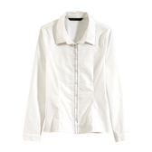 【MASTINA】簡約白領襯衫-白 0524