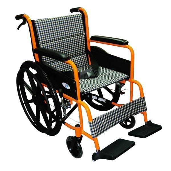 富士康機械式輪椅(未滅菌) ( FZK2B鋁製輪椅-雙層坐墊)