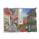 【收藏天地】台灣紀念品*溫度計冰箱貼-九份老街