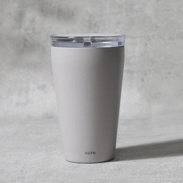日本CB Japan mlte系列陶瓷漆保冷保溫手拿杯350ml-共2色