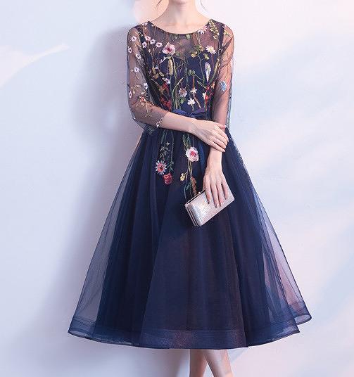 (45 Design) 洋裝禮服婚禮洋裝伴娘禮服洋裝小禮服中長禮服小洋裝蕾絲洋裝媽媽禮服13