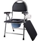 移動馬桶 老人孕婦加厚圓凳子坐便椅家用可移動折疊馬桶 伊莎公主