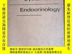 二手書博民逛書店Systematic罕見EndocinologyY256488 Systematic Endocinology