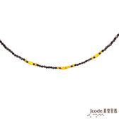 J'code真愛密碼 獨特 黃金/尖晶石項鍊