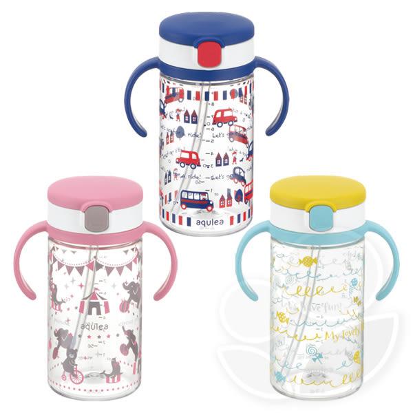 日本 Richell 利其爾 第四代LC水杯 - 貝克街/粉紅派對/棒棒糖水杯320ml【佳兒園婦幼館】