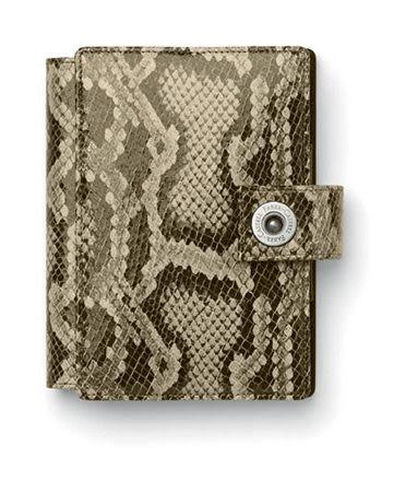 Faber-castell 經典蛇紋皮萬用手冊-M型 *188841