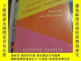 二手書博民逛書店Learner-Centered罕見Language Teach