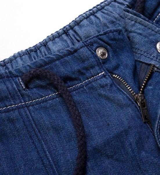 日系時尚街頭牛仔寬鬆休閒五分短褲 加大號到7XL