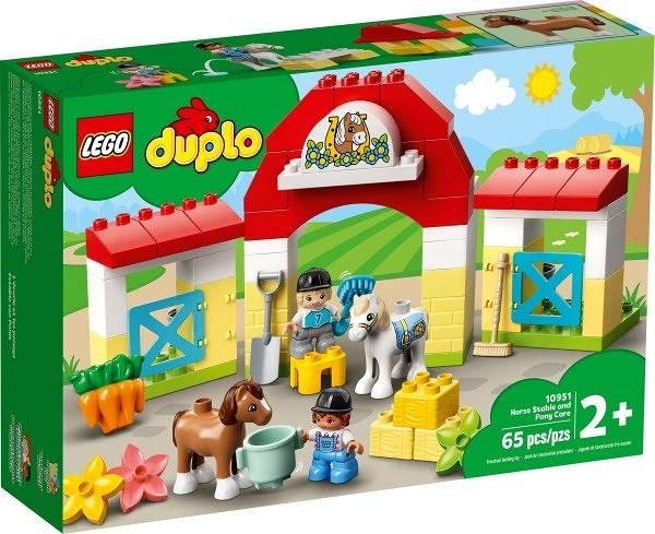 樂高LEGO DUPLO 馬廄和照顧小馬 10951 TOYeGO 玩具e哥