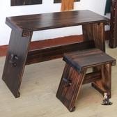 古琴桌 桐木古琴桌上漆款古琴桌凳實木國學桌茶藝桌雙栓便攜古琴桌共鳴好T