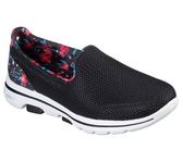 Skechers Go Walk 5 [124004BKMT] 女鞋 健走 休閒 避震 懶人 舒適 透氣 步行 穿搭 黑