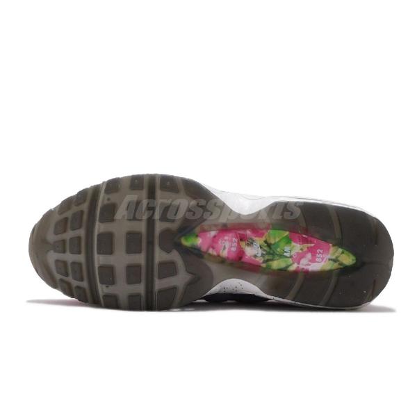 【海外限定】Nike 休閒鞋 Air Max 95 Premium Flame Powder 桃紅 紫 女鞋 復古慢跑鞋 氣墊 【ACS】 CV0032-605