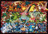 寶可夢 三種屬性大集合/500P/Ensky/神奇寶貝/日本進口拼圖