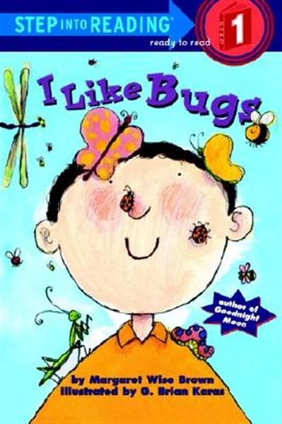 (二手書)Step into Reading Step 1: I Like Bugs
