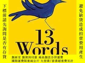 二手書博民逛書店13罕見WordsY256260 Lemony Snicket Harpercollins 出版2010
