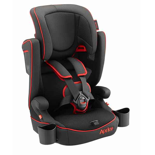 愛普力卡 Aprica- Air Groove 限定版 成長型輔助汽車安全座椅(黑色龍捲風) 6640元(無法超取)