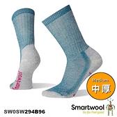 【速捷戶外】Smartwool 美麗諾羊毛襪 SW0SW294B96 女中級減震途步中長襪(沼澤灰),登山/健行/旅遊