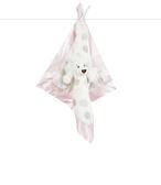 【美國 Little Giraffe】安撫巾 - 豪華小獅子系列嬰兒安撫巾(粉紅款) - LXDBLLPK