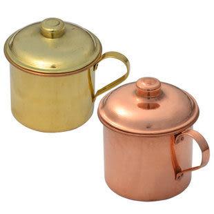 純銅餐具 (紫銅水杯子+黃銅杯子)