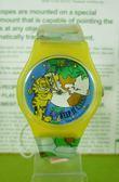 【震撼精品百貨】加菲貓~手錶~黃藍【共1款】
