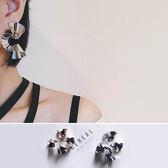 耳環 螺旋 褶皺 金屬 個性 時尚 耳環【DD1705136】 BOBI  06/29