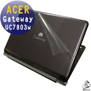 EZstick機身保護貼-ACER Gateway UC7803w  系列專用(含上蓋及鍵盤週圍)機身貼