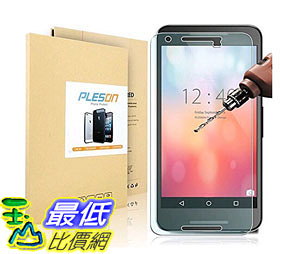 [105美國直購] 螢幕保護膜 Nexus 5X Screen Protector Tempered Glass Screen Protector 99% Clarity 0.2mm B016CUS84Q