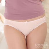【岱妮蠶絲】LA0231E純蠶絲42針70G單蝴蝶結低腰三角內褲(粉紅)