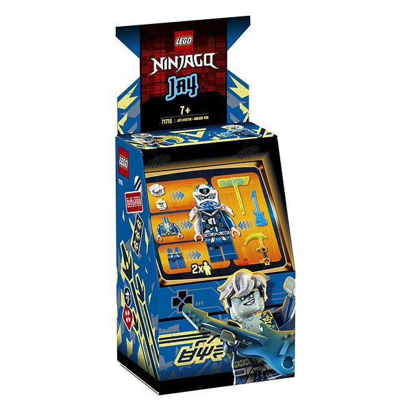 樂高積木 LEGO《 LT71715 》 NINJAGO 旋風忍者系列 - Jay Avatar - Arcade Pod╭★ JOYBUS玩具百貨