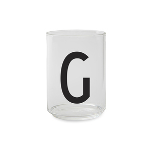 Design Letters 字母玻璃杯 G