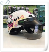 Hello Kitty安全帽,雪帽,K825,KT020/白,附抗UV-PC安全鏡片