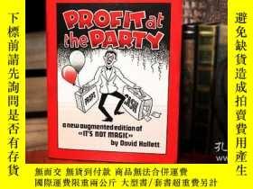 二手書博民逛書店Profit罕見at the Party (Limited Out of Print) by David Hall