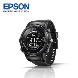 Epson WristableGPS U-350B 水下心率 運動手錶