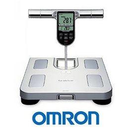 OMRON 歐姆龍體脂計 HBF-371(銀白色)-贈BMI體重管理皮尺