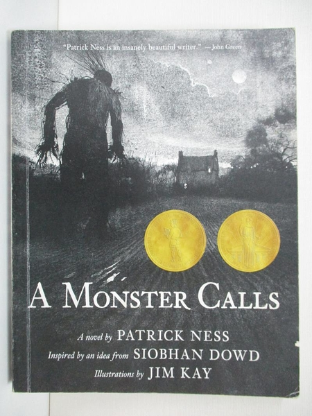 【書寶二手書T1/原文小說_BK2】A Monster Calls: Inspired by an Idea from…