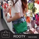 韓國Rooty招牌真皮手提側背迷你包 NO.R372【M號】