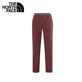 【The North Face 男 LIGHTEN彈性長褲 杉木紅】CNK8/彈性長褲