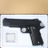 K12 空氣BB槍 空氣槍 加重型玩具槍(黑色)/一支入(促350) 合金槍 手拉空氣BB槍 手拉式空氣BB槍-錸