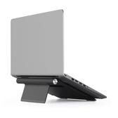 埃普筆記本支架鋁合金折疊式手提電腦架桌面增高架ipad支架散熱器