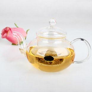 心形底座玻璃茶具6杯 400ml